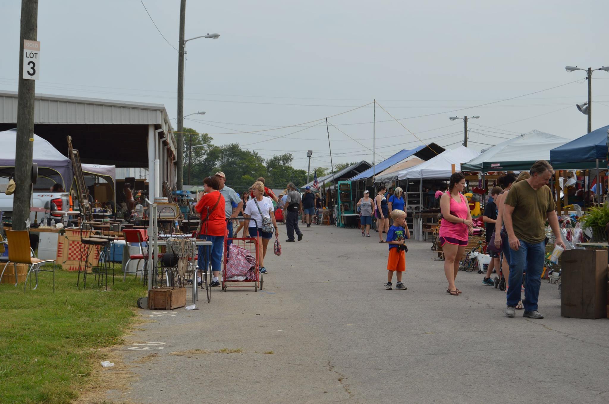 Flea Market Weekend Spring Fest  Wannado Nashville