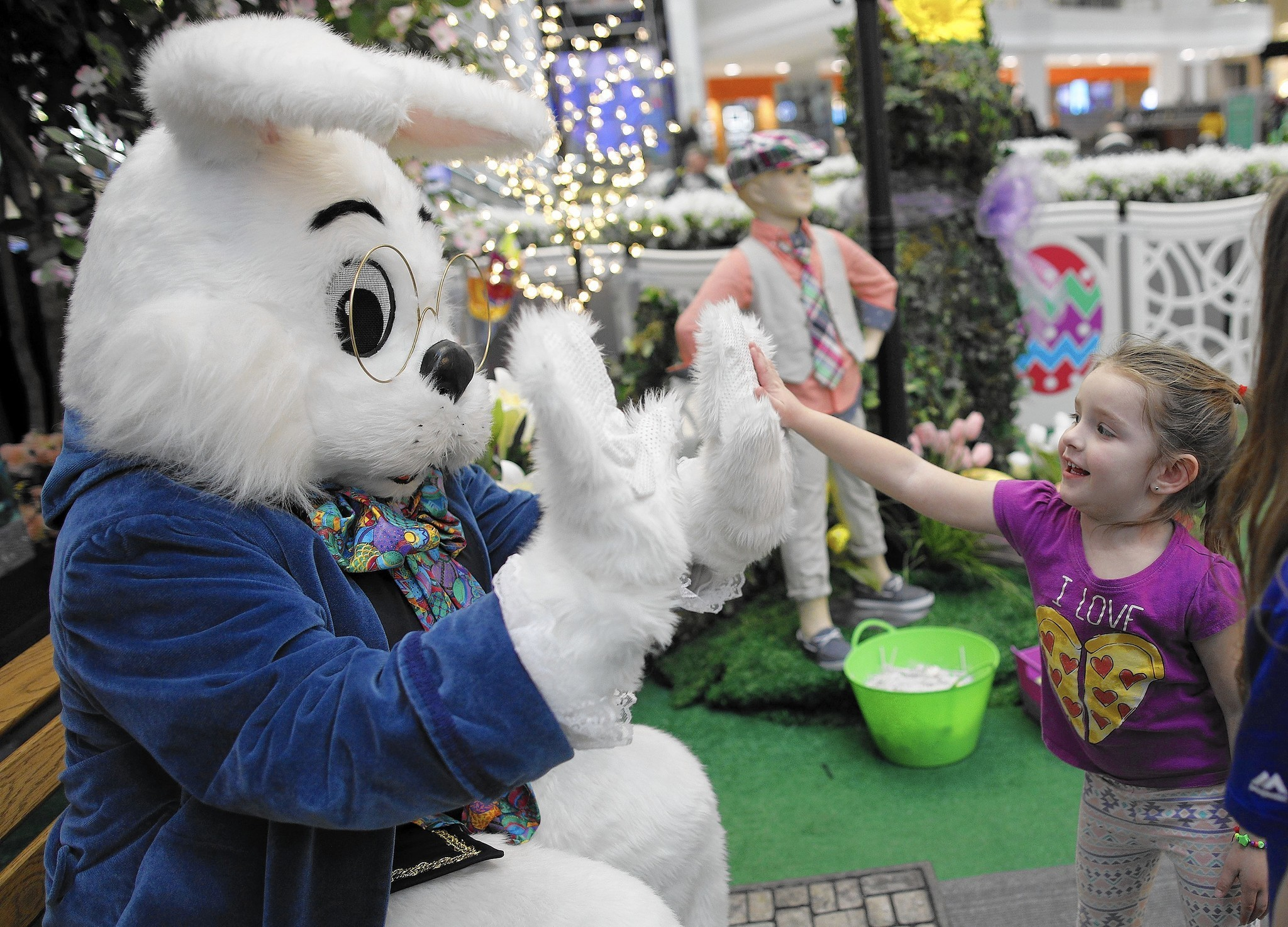 Image result for opry mills easter bunny
