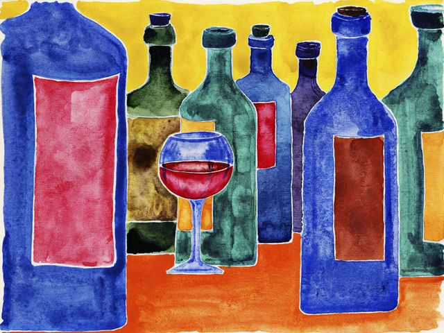 Wine Club Painting Class Wannado Nashville
